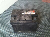 car battery used !!!