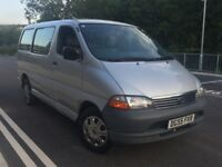 TOYOTA HIACE 2.5 D4D DIESEL SWB 2005 YEAR 1 OWNER FROM NEW GREAT CONDITION INSIDE OUT