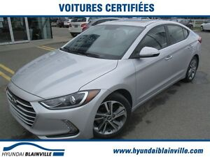 2017 Hyundai Elantra GLS TOIT,APPLE CARPLAY,MAGS,BLUETOOTH,SIÈGE