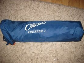 Outbound Trekker 2 tent complete, just needs pegs.