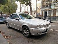 JAGUAR X-TYPE 2.0D Diesel - Stunning! Very econom 55mpg. Only 70k miles. Full Jaguar history
