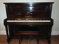 Upright piano for sale, good condition.