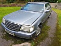 Mercedes s420. 1992 model. Spares and repairs. Still starts.