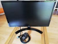 "LG 22"" Class Full HD IPS LED Monitor - 22MP58VQ-P (21.5"" true size)"