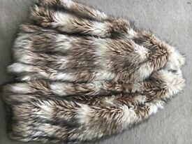 Fur coat size 10