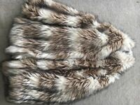 Fur coat size 10