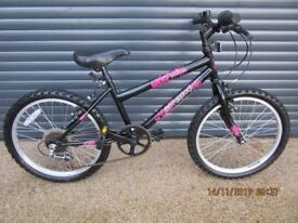 GIRLS SILVERFOX. LIGHTWEIGHT BIKE IN VERY GOOD USED CONDITION, IDEAL PRESENT..SUIT APPROX.AGE 6 / 7+