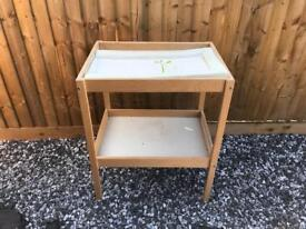 Baby change table free