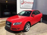 AUDI A4 2.0 TDI ** FULL SERVICE HISTORY ** NEW MOT ** HEATED LEATHER SEATS! **