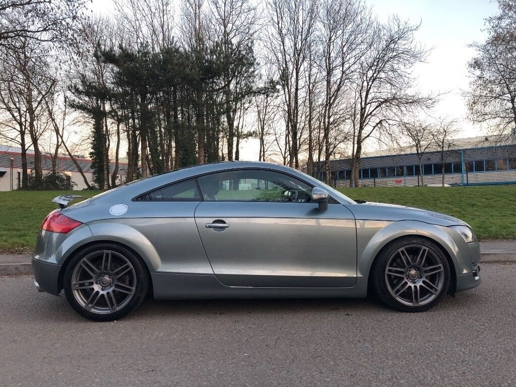 Audi TT Coupe MK TFSI In Condor Grey Great Condition In - Audi tt coupe