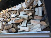 Seasoned fire wood logs