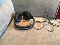 Sennheiser HD201 headphones.
