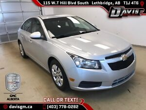 Used 2013 Chevrolet Cruze LT-1.4L Turbocharged, Bluetooth