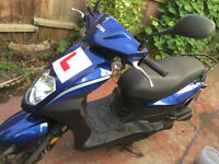 SYM SYMPLY 50 moped scooter (Low Millage)