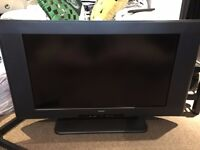 """28"""" Widescreen TV, Chunky Frame, Used, Good Condition"""