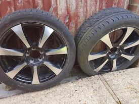 17 inch Lenso Alloy Wheels