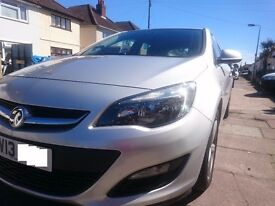 car: Vauxhall ASTRA 2013 95BHP 1.3 CDTi ecoFLEX 16v £20 per YEAR road TAX