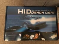 HID Xenon kits and LED Bulbs and kits with a year warranty