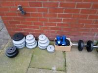 Bundle of weights