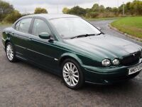 Jaguar X Type 2.2 d sports premium 66,200 miles fsh....