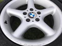 X4 BMW Z3 alloys and PW Tyres