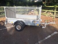 Ifor Williams P6e Caged Box / Flatbed Trailer ( Quad Lawn Mower Go Kart )
