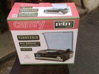 Camry retro Turntable