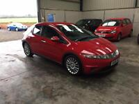 207 Honda Civic se 2.2 cdti 6 speed excellant condition guaranteed cheapest in country