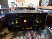 CITRONIC 200 WATT STEREO POWER AMPLIFIER