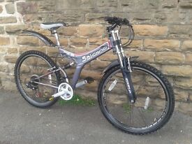 Salcano 262 D-MAX Full Suspension Light Weight Down Hill Mountain Bike