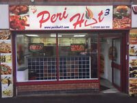 BUSY HALAL TAKEAWAY, SHORT HOURS, HIGH PROFIT, IN BOLTON.