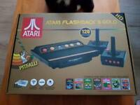 Atari flashback 8 gold console with 120 games built in and 2 wireless controllers