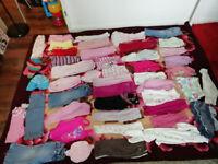Bundle girls clothes size 12-18, good condition.