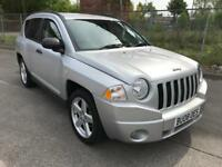 Stunning 2008 08 Jeep Compass 2.0Crdi Limited 4x4 **Only 50000+Full Leather+1 Years Mot+History**