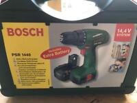 Bosch PSR 1440 Drill 2x Battery Set