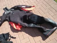 Dry Suit, Divemaster Northern Diver size XLarge