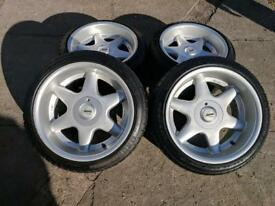 Rare lm technik,5x120, Bmw alloys,drift, deep dish