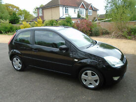 Ford Fiesta Zetec Climate 1.4, 12 Months MOT, Full Service History, Cambelt And Water Pump Done