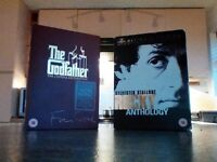 Two trilogy box sets