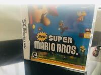 NDS game: Super Mario Bros - boxed