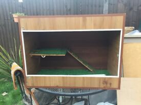good condition for a used viv, lights and ballast available