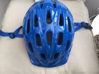 Blue Kids Bike Helmet (50-54cm) from Halfords