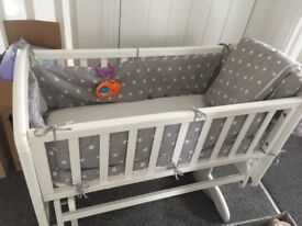 White John Lewis crib great condition only 7 months old