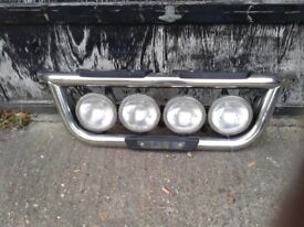 truck light bar chunky type with four spotlamps