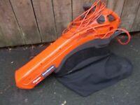 Flymo gardenvac 2200 turbo leaf blower and vacuum