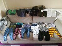 Large bundle 9-12 boys clothes