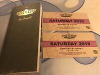 Goodwood revival Saturday tickets x2