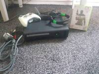 XBOX 360 WITH HEADSET+GAME