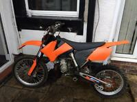 2008 ktm 85 bw fast bike px swap transit car etc