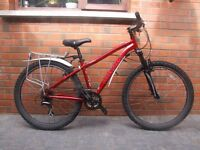 15' Marin Bolinas Ridge 2012 light weight bike 24 gears little used excellent condition dark red